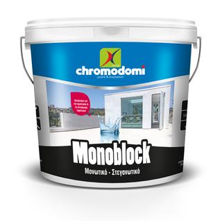 MONOBLOCK (economic waterproofing and insulating material for roofs)