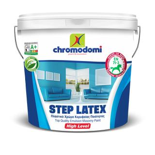STEP LATEX (top quality emulsion masonry paint)