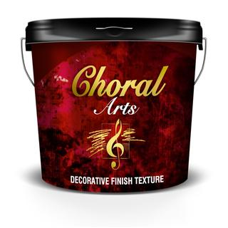 CHORAL (water based decorative material on various shades)