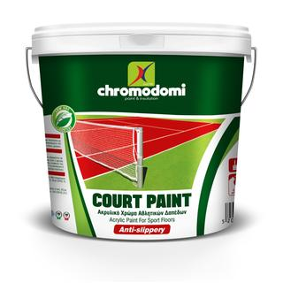 COURT PAINT ( acrylic paint for sport floors )