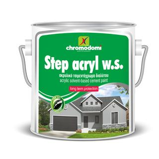 STEP ACRYL W.S. (solvent based acrylic cement paint)