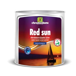 RED SUN WATER (water based wood varnish)