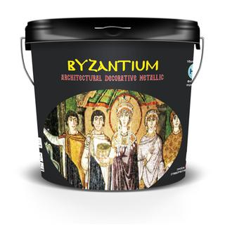 BYZANTIUM (water based decorative material on various shades)