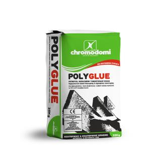 POLYGLUE BAG (resinous, fiber reinforced adhesive cementitious mortar)