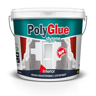POLYGLUE 1 COMPONENT (ready for use glue for polystyrene & all the kinds of cement materials)
