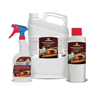 F-17 Cleaner for fireplaces & barbeque