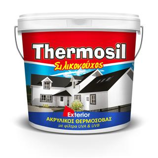 THERMOSIL (ready for use, thick acrylic silicon thermal plaster)