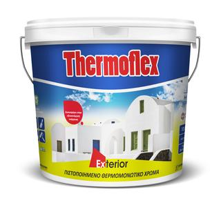 THERMOFLEX (certified acrylic thermal insulating paint)