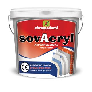 SOVACRYL (ready for use thick acrylic plaster)